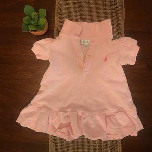 Pink Ralph Lauren Polo Dress